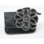 Charming women's handbag X-2171 Black