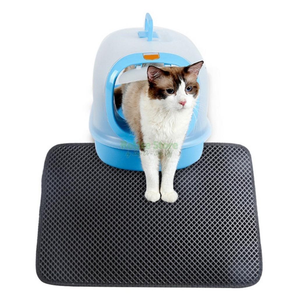 Covorul pentru litiera pisicilor